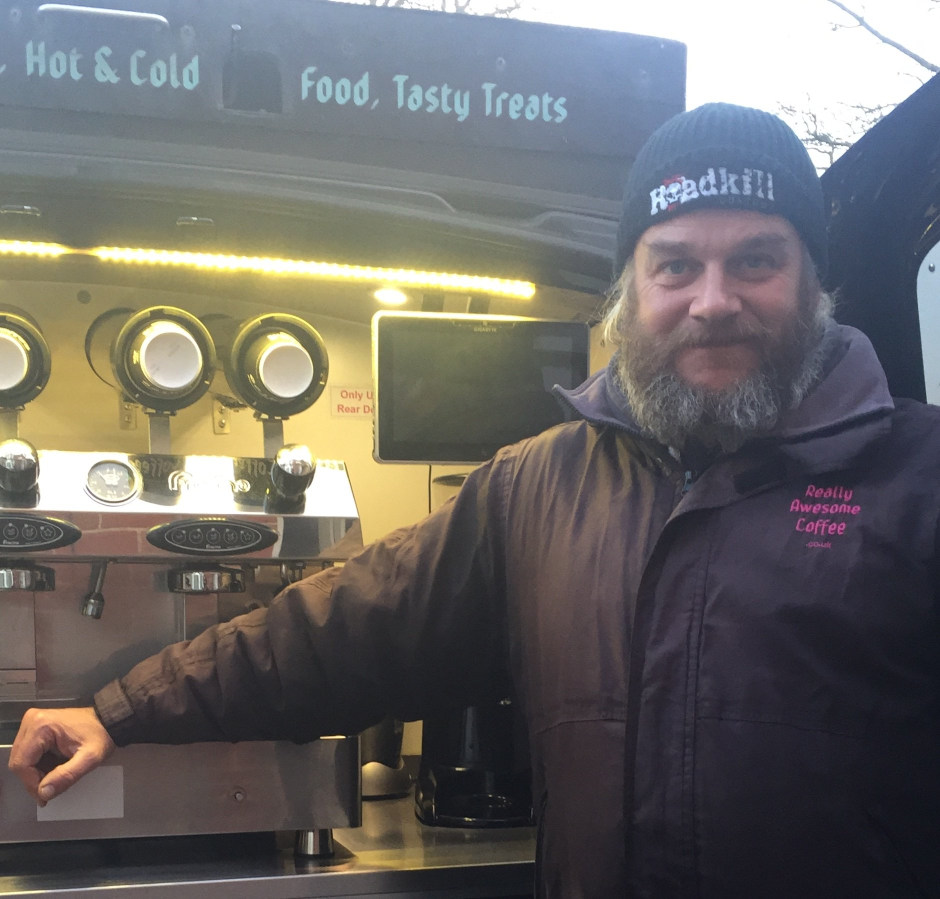 Norwich mobile coffee van