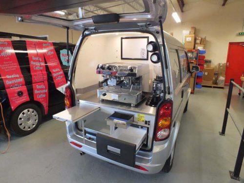 Coffee Van Conversion Open