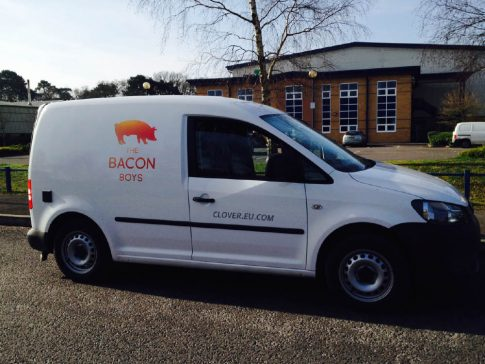 Coffee Van Conversion VW Caddy Bacon Boys Side