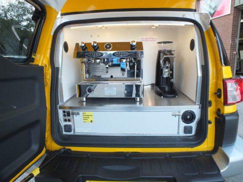 coffee-van-conversion-FJ-Cruiser-service-area