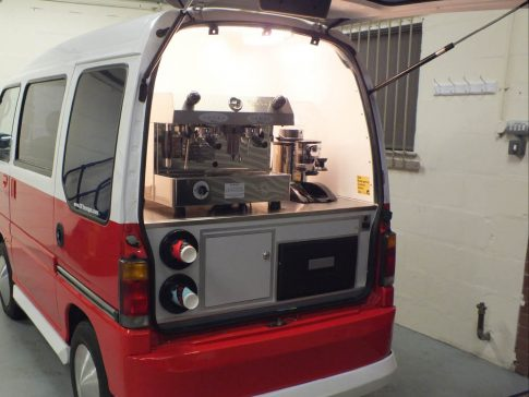 coffee-van-conversion-subaru-sambar-doors-open