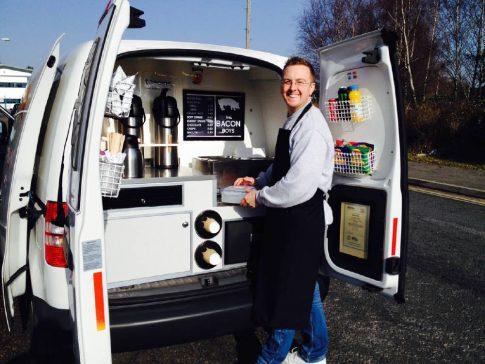 coffee-van-conversion-vw-caddy-bacon-boys-event