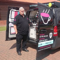 Mobile coffee van Ipswich