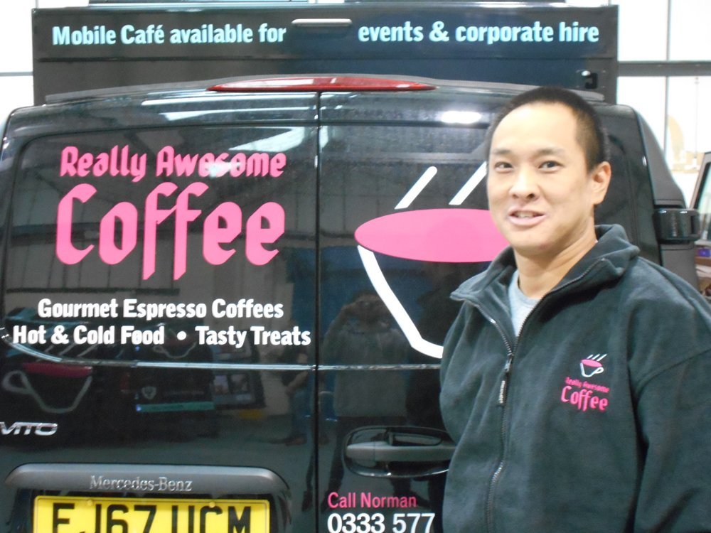 mobile coffee van Wellingborough
