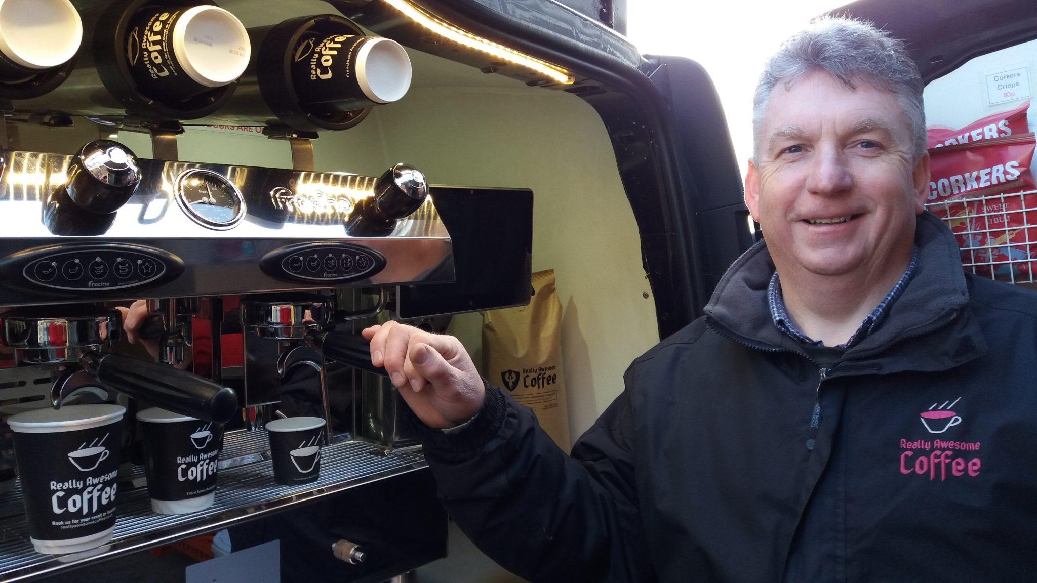mobile coffee van Ashby