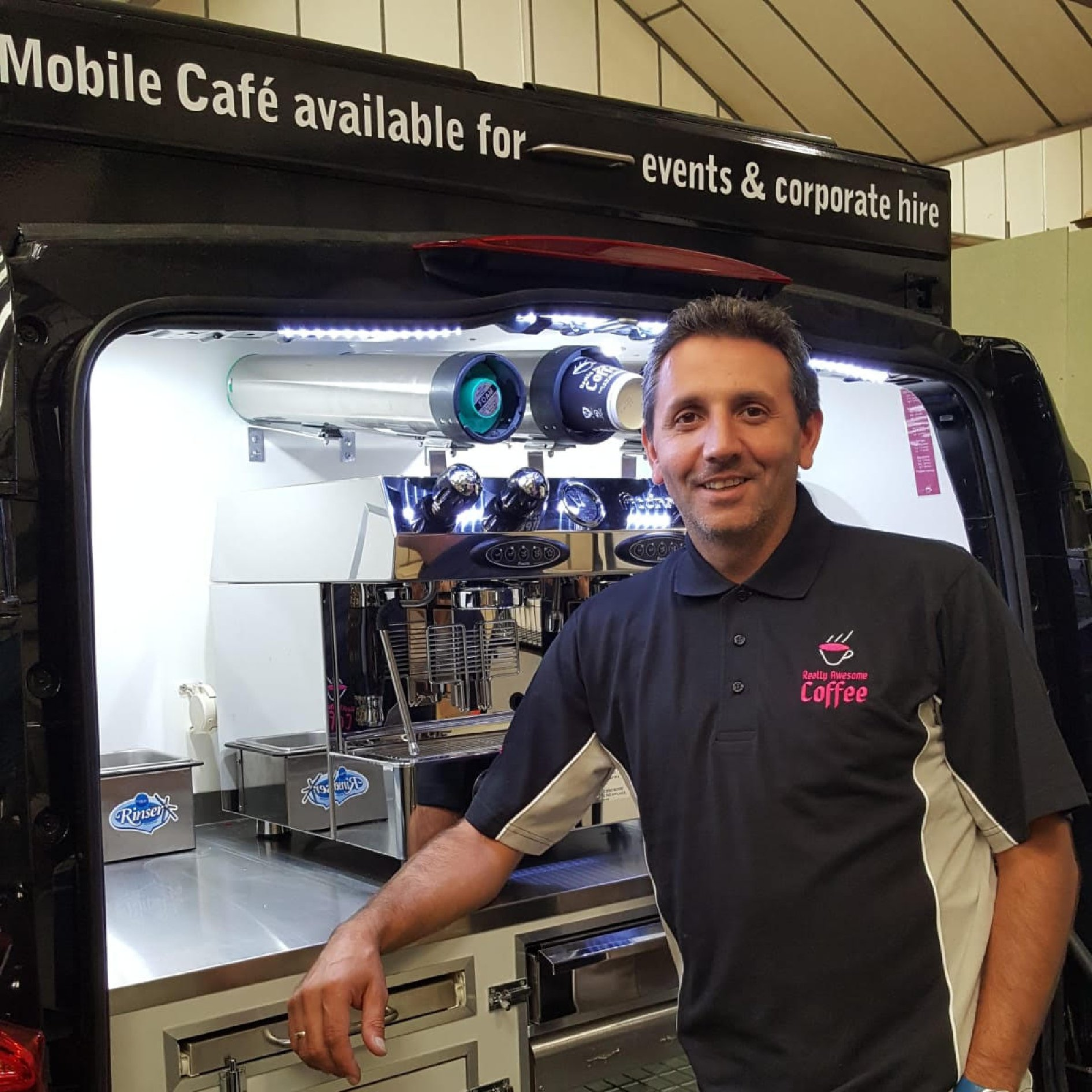 Aylesbury mobile coffee van