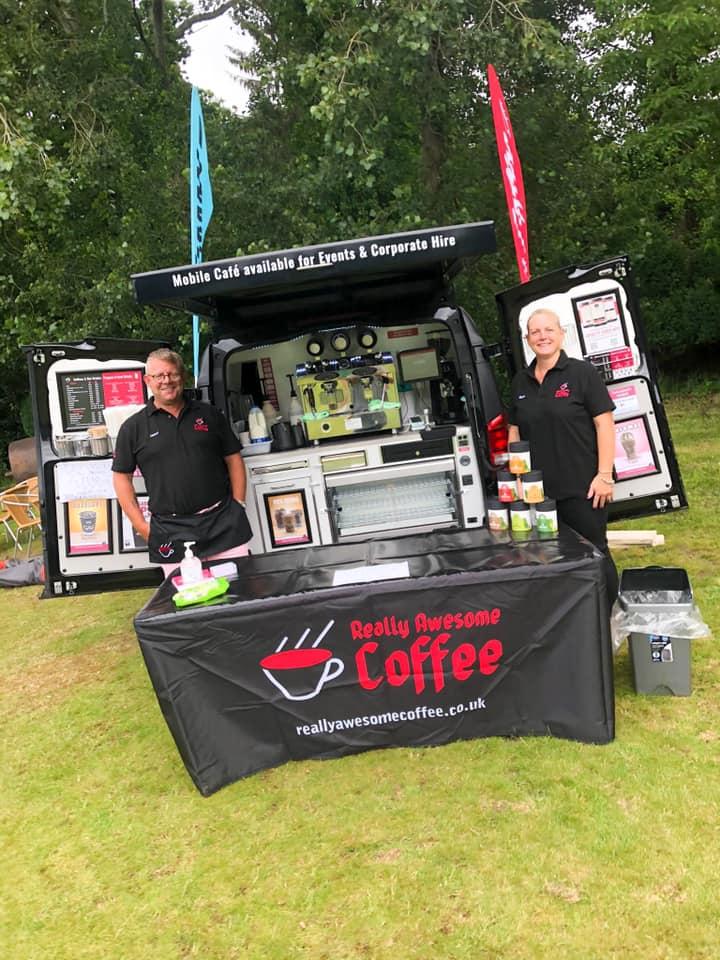 Mobile coffee van Southampton